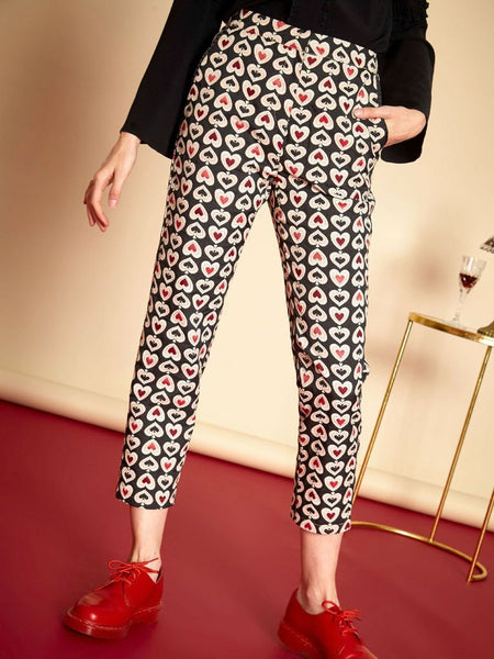 Queen Of Hearts Ciggy Trousers
