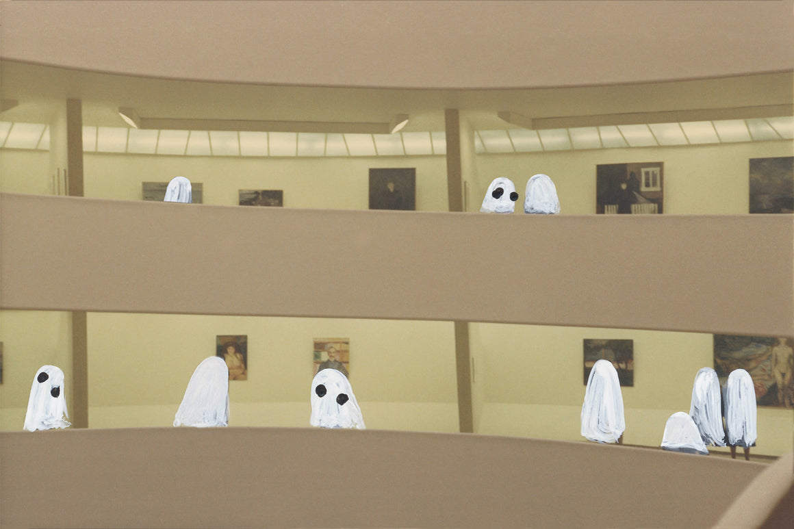 Ghosts in The Guggenheim
