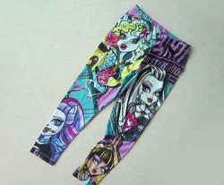 Monsters high leggings size 6-14/16y