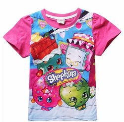 Shopkins blue/pink T-shirt