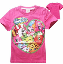 Shopkins fuchsia T-shirt