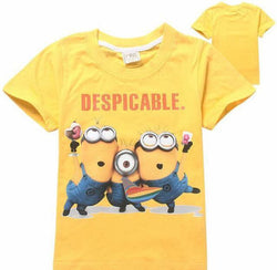 "Minions ""despicable"" yellow T-shirt"