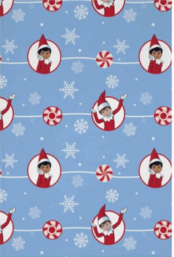 Elf on the shelf fleece blanket IN STOCK