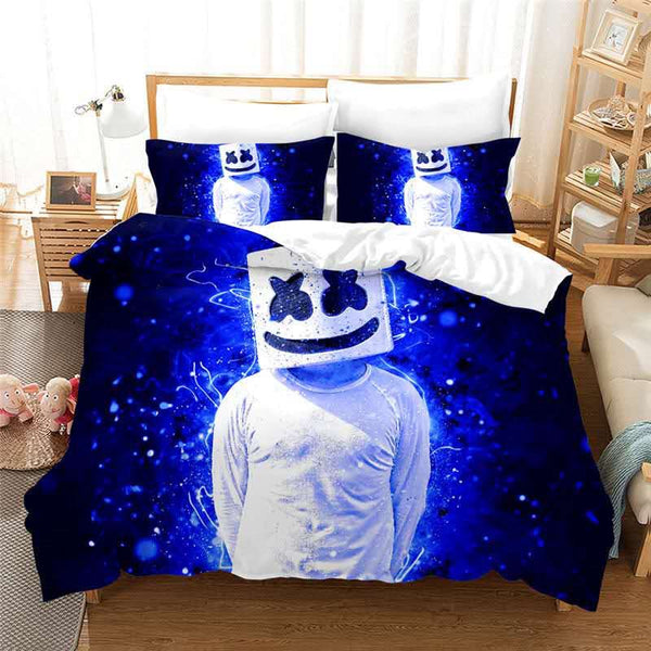 NEW DESIGN Marshmello quilt cover set
