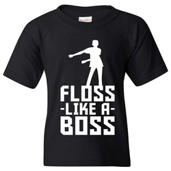 Floss like a boss T-shirt Sz 6-14