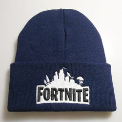 Navy blue Fortnite beanie