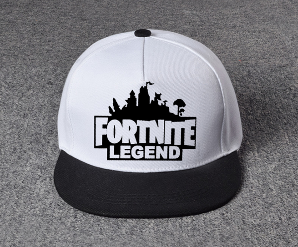White & Black Fortnite hat