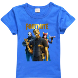 NEW 2020 release Fortnite Midas T-shirt blue