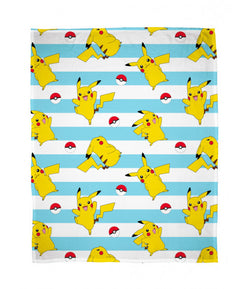 Pikachu throw blanket