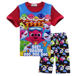 Baby shark pyjamas red/Black