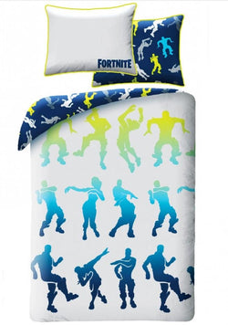 Fortnite 'battle royale' single bed quilt cover set IN STOCK