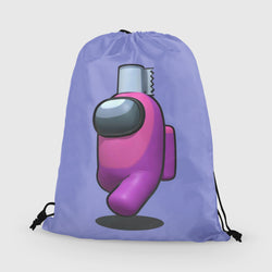 Purple Among us library bag
