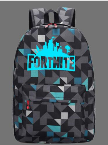 BACK SOON Fortnite geometric backpack