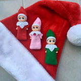 Baby elves, red, pink or green!!