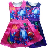 Trolls dress pink or purple