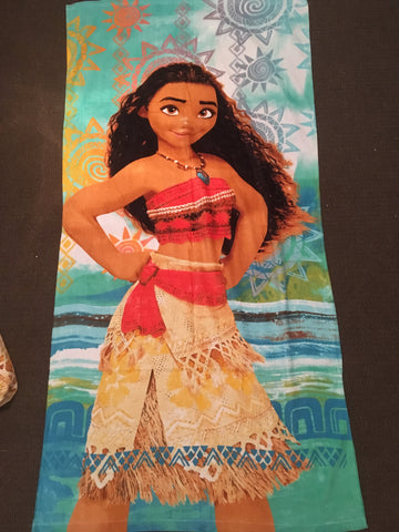 Moana beach towel