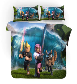 "Roblox ""sword"" quilt cover set pre-order"
