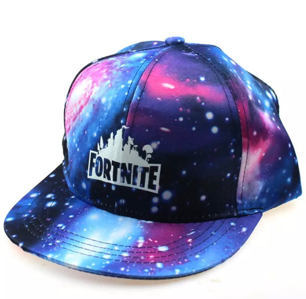Fortnite galaxy glow in the dark hat