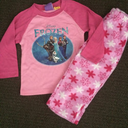 Frozen winter PJS size 2 LAST ONE!