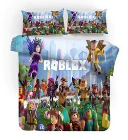 "Roblox ""city group"" quilt cover set IN STOCK single only"