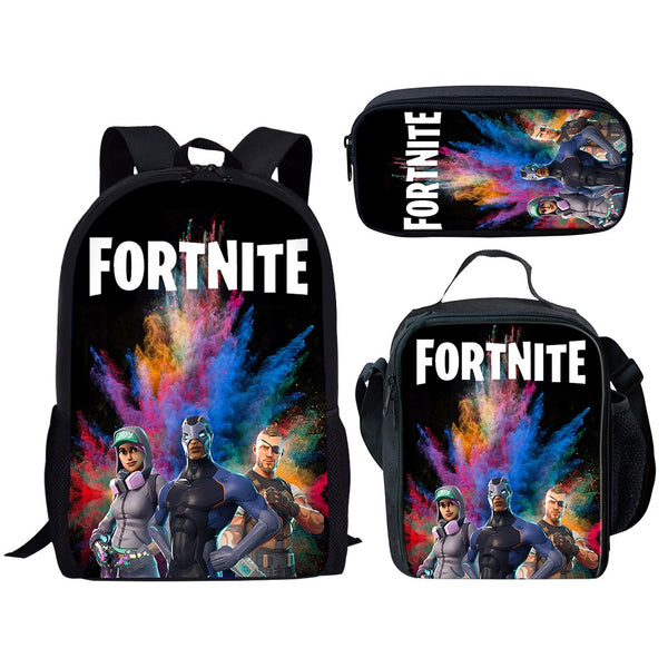 FORTNITE 3pc back to school backpack set