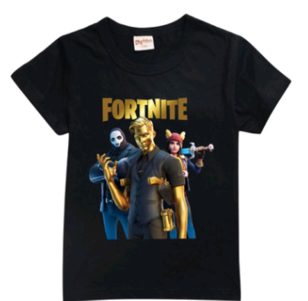 NEW 2020 release! Fortnite Midas T-shirt black