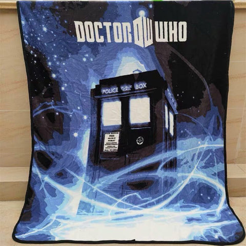 Dr. who phone booth mink blanket