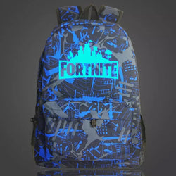Blue/Grey glow Fortnite backpack