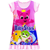 Baby Shark nightie, 2 colours IN STOCK