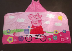Peppa pig hoodies towel