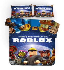 "Roblox ""planet"" quilt cover in stock"