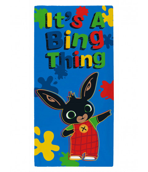 It's a Bing thing beach towel