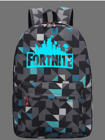 IN STOCK Fortnite geometric backpack