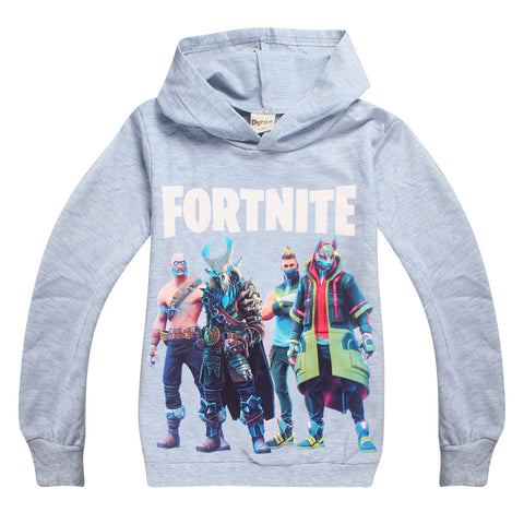 NEW fortnite hoodie grey small make