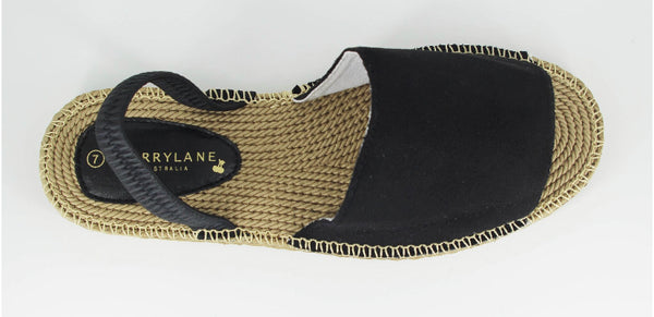 Hope Espadrille- black