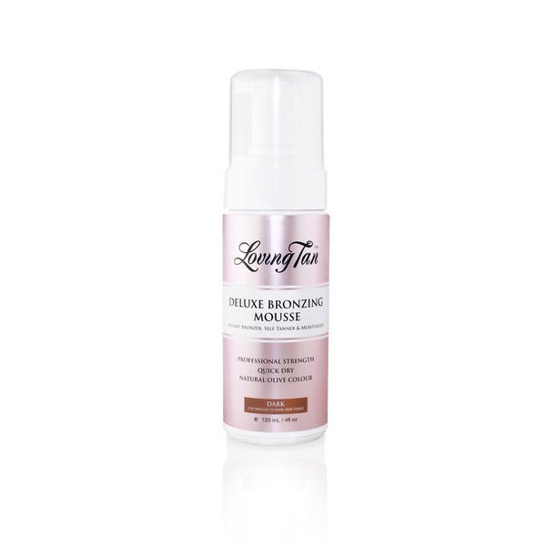 Deluxe Bronzing Mousse -  Dark for Self Tanning