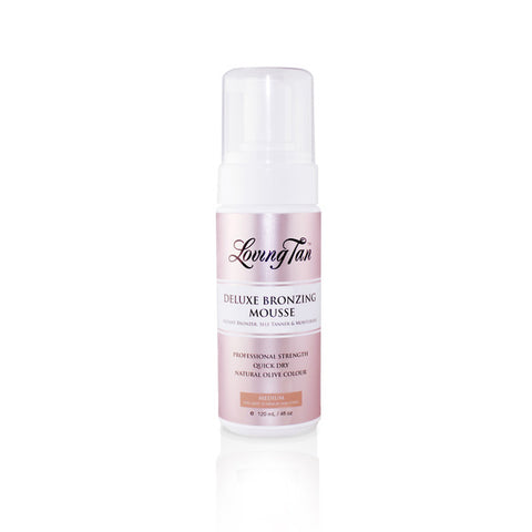 Deluxe Bronzing Mousse Medium for Self Tanning