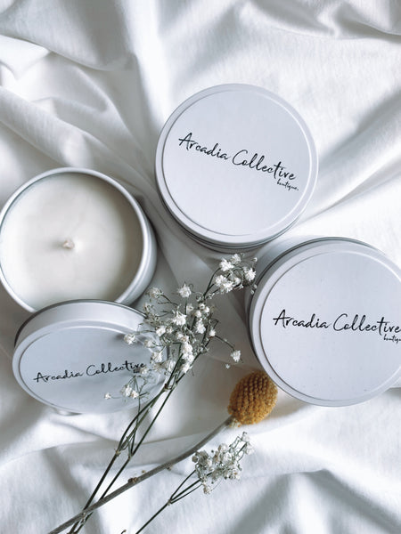 Arcadia Soy Candles by The Heart of Hewkins