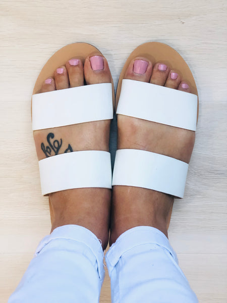 Corfu Slides - WHITE