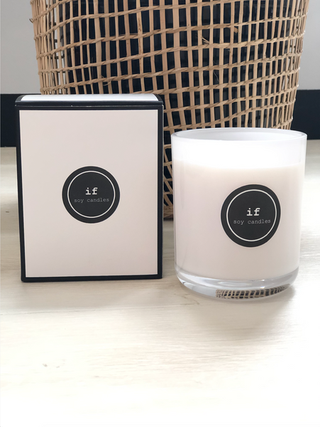 If Soy Candles - Champagne + Strawberries Candle