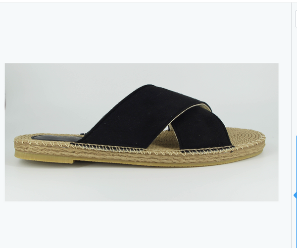 Honor Espadrille - Black