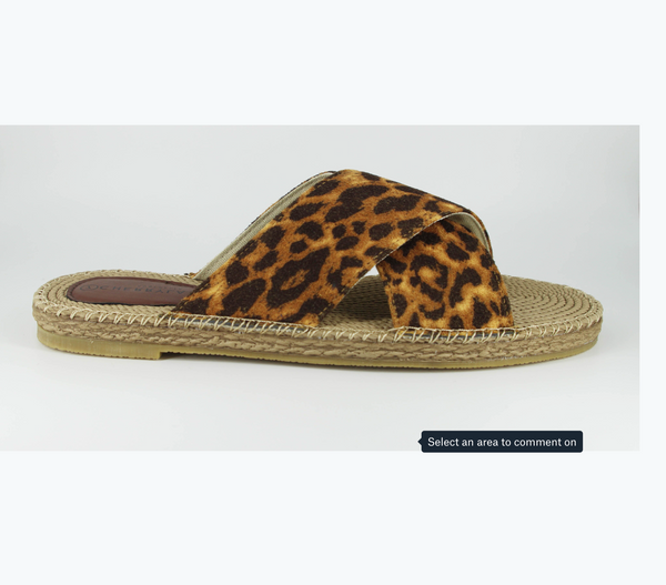 Honor Espadrille - Leopard