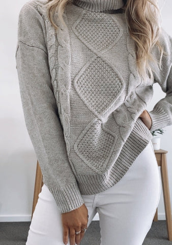 Brittany Knit - GREY