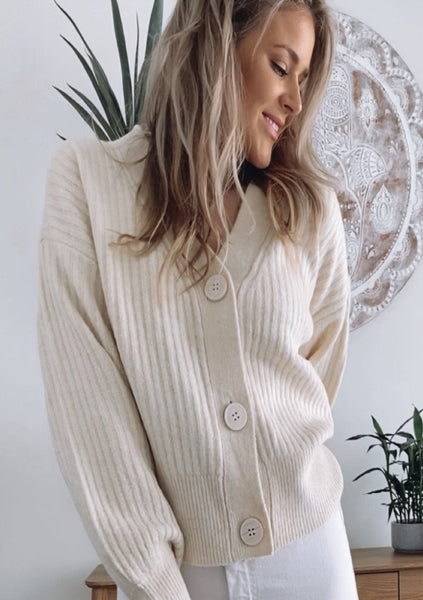 Chloe Cardigan - CREAM
