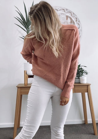 Lauren Knit - BLUSH