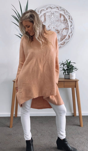 Cora Jumper - PEACH