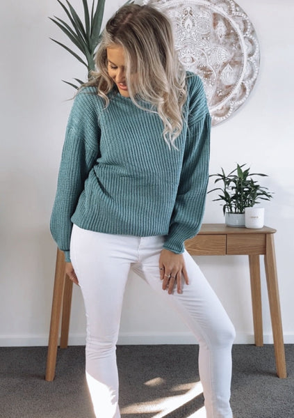 Bella Knit - AQUA