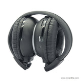 Wireless 2-Channel Infra Red Headphone with FREE Protective Hard Case