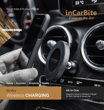 inCarBite-BENTLEY Wireless Qi Magnetic Car & Home Charger - DELUXE Combo