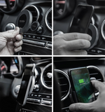 NEW ARRIVAL ! inCarBite-BENTLEY 2-in-1 Magnetic Wireless Qi CAR & HOME Charger